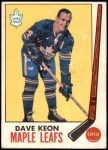 1969 O-Pee-Chee #51  Dave Keon  Front Thumbnail