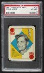 1951 Topps Blue Back #15  Eddie Joost      Front Thumbnail