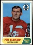 1968 Topps #198  Pete Beathard  Front Thumbnail