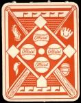 1951 Topps Red Back #35  Al Rosen  Back Thumbnail