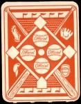 1951 Topps Red Back #41  Whitey Lockman  Back Thumbnail