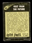 1964 Outer Limits #10   Visit From the Future  Back Thumbnail