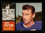 1962 Topps #112  Jim Patton  Front Thumbnail