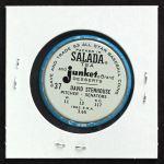 1963 Salada Metal Coins #37  Dave Stenhouse  Back Thumbnail