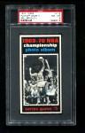 1970 Topps #172   -  Bill Bradley  1969-70 NBA Championship - Game 5 Front Thumbnail