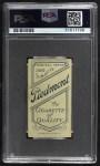 1909 T206 WAS Kid Elberfeld  Back Thumbnail