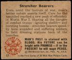 1950 Bowman Wild Man #17   Stretcher Bearers Back Thumbnail
