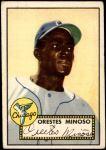 1952 Topps #195  Minnie Minoso  Front Thumbnail