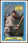 1972 Kellogg All Time Greats #15  Ty Cobb  Front Thumbnail