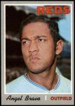 1970 Topps #283  Angel Bravo  Front Thumbnail