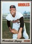 1970 Topps #344  Marcelino Lopez  Front Thumbnail