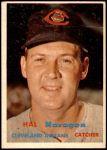 1957 Topps #347  Hal Naragon  Front Thumbnail