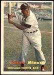 1957 Topps #138  Minnie Minoso  Front Thumbnail