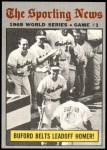 1970 Topps #305   -  Don Buford 1969 World Series - Game #1 - Buford Belts Leadoff Homer Front Thumbnail