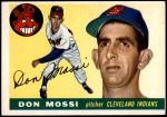 1955 Topps #85  Don Mossi  Front Thumbnail