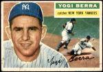 1956 Topps #110 GRY Yogi Berra  Front Thumbnail
