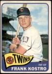 1965 Topps #459  Frank Kostro  Front Thumbnail