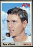 1970 Topps #531  Ron Clark  Front Thumbnail