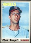 1970 Topps #543  Clyde Wright  Front Thumbnail