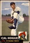1953 Topps #238  Cal Hogue  Front Thumbnail
