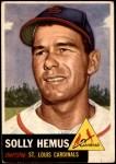 1953 Topps #231  Solly Hemus  Front Thumbnail