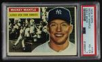 1956 Topps #135 GRY Mickey Mantle  Front Thumbnail