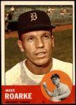 1963 Topps #224  Mike Roarke  Front Thumbnail