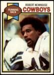 1979 Topps #252  Robert Newhouse  Front Thumbnail