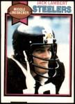 1979 Topps #475  Jack Lambert  Front Thumbnail