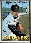1967 Topps #345  Stu Miller  Front Thumbnail