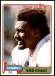 1981 Topps #71  Robert Newhouse  Front Thumbnail