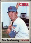 1970 Topps #265  Randy Hundley  Front Thumbnail