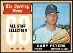 1968 Topps #379   -  Gary Peters All-Star Front Thumbnail