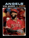 2020 Topps Heritage #618  Brian Goodwin  Front Thumbnail