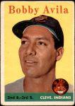 1958 Topps #276  Bobby Avila  Front Thumbnail
