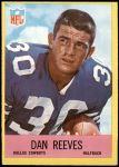 1967 Philadelphia #58  Dan Reeves  Front Thumbnail