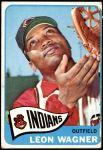 1965 Topps #367  Leon Wagner  Front Thumbnail