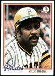 1978 Topps #510  Willie Stargell  Front Thumbnail