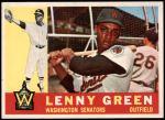 1960 Topps #99  Lenny Green  Front Thumbnail