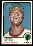 1973 Topps #423  Johnny Jeter  Front Thumbnail