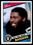 1984 Topps #112  Rod Martin  Front Thumbnail