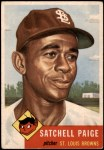 1953 Topps #220  Satchel Paige  Front Thumbnail