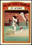 1972 Topps #694   -  Alan Gallagher In Action Front Thumbnail