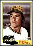 1981 Topps Traded #843 T Jason Thompson  Front Thumbnail