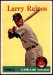 1958 Topps #243  Larry Raines  Front Thumbnail