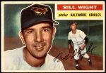1956 Topps #286  Bill Wight  Front Thumbnail