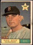 1961 Topps #236  Don Gile  Front Thumbnail