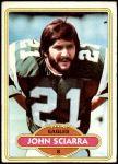 1980 Topps #397  John Sciarra  Front Thumbnail
