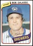 1980 Topps #711  Bob Galasso  Front Thumbnail