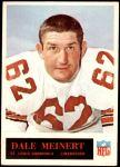1965 Philadelphia #165  Dale Meinert   Front Thumbnail